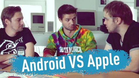 iOS vs. Android - спор длящийся годами... feat. Droider  - «Телефоны»